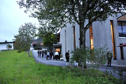 Der »Grüne Hügel« von Schwendt: Komponierhäusl Kendlinger eröffnet