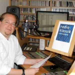 Im Talk: Matthias Georg Kendlinger – eine Stunde bei »radio klassik Stephansdom«