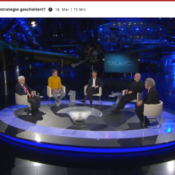 Kendlinger bei ServusTV »Talk im Hangar 7«